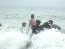 海水浴外乗 再び海へ