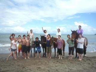 海水浴外乗 集合写真