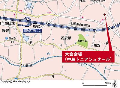 中島トニアシュタール 地図